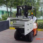 चीन हायड्रॉलिक एफिशिएंट फोर्कलिफ्ट ट्रक अटॅचमेंट्स मल्टी पर्पज क्लेम्प