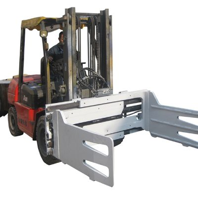 फोर्कलिफ्टसह काटेरी ट्रक फिरविणे गठ्ठा क्लॅम्प्स