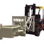 फोर्कलिफ्ट टायर हँडलिंग अटॅचमेंट टेलीस्कोपिक टायर क्लेम्प्स