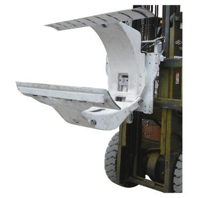 पेपर रोल क्लॅम्प्स अटॅचमेंटसह 3 टन डिझेल फोर्कलिफ्ट ट्रक