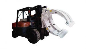 मटेरियल हँडलिंग उपकरण फोर्कलिफ्ट पेपर रोल क्लॅम्प
